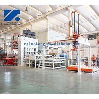 short cycle lamination press line for laminating floor/melamine laminated line