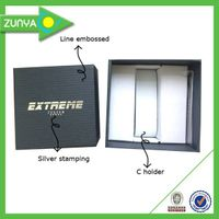 Customize elegant cardboard paper watch box thumbnail image