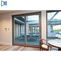 Newest lifting cheap sliding door standard aluminium
