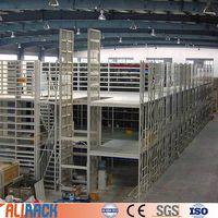 Ali Racking warehouse multi-level platform warehouse rack mezzanine racking thumbnail image