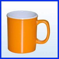 two tone color /two layer melamine mug thumbnail image
