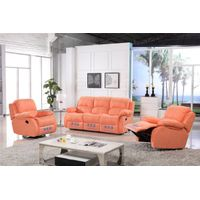reclining back electric indoor furniture sofa set
