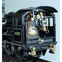 Gauge One G Scale 1/32 Live Steam Model Trains Railroad Garden Railway Steam Engine Brass Black 5