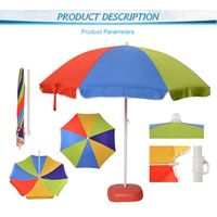 Wholesale Custom promotional advertising cheap china umbrella factory outdoor beach umbrella pass BS