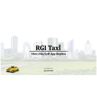 RGI Taxi - On demand taxi booking app solution like Uber & Ola