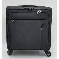 Polyester or nylon fabric flight carry-on luggage travel bags