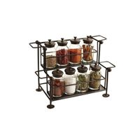 Spice Rack, 2 Shelves, Metal Wire Spice Holder thumbnail image