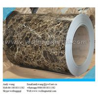 Mental roofing material wooden grain color coated steel coil