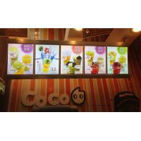 LED lightbox for milk tea