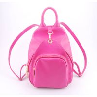 Guangzhou Supplier Designer PU Leather Womens Backpack Bag (00537)