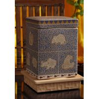 Ceramic tea caddy with Chinese characteristic