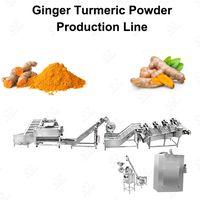 Turmeric Powder Manufacturing Business/Dry Ginger Powder Making Machine thumbnail image