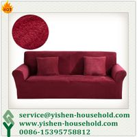 Yishen-Household cheap spandex knitted sofa cover designs YS-ZZP035-SC1