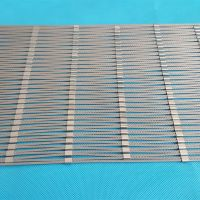High strength AISI 316 Flexible stainless steel wire rope zoo mesh thumbnail image