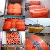 HDPE sand dredger floate, Dredging floater, dredge floater, floating buoy. buoy floater, HDPE pipe f thumbnail image