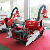 Small Rice Combine Harvester Manufacturer 4LZ-0.8