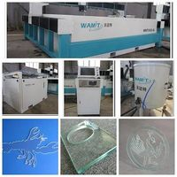 20003000mm Water jet Cutting Machine for Glass/Plastic/Marble/Metal/Leather/Stone with CE