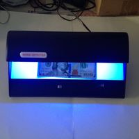High power 16W UV counterfeit detector,currency detector,with UV white light