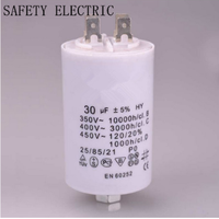 Cbb60 Capacitor for Air Compressor Capacitor for Electric Motors Supercapacitor