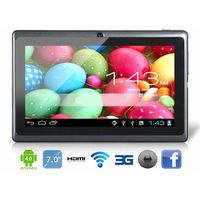 7 inch tablet pc with Q88,Dual core,allwinner a23,android tablet