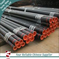 ASTM A106B Hot Rolled Black Painted Seamless Steel Pipe