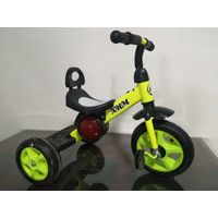cheap wholesale factory high quality plastic gift children ride three wheels bicycle thumbnail image