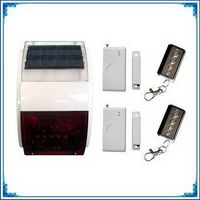 wireless solar siren with strobe light(AF-008)