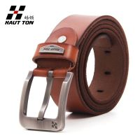 zk016 men leather belt