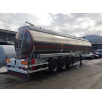 ADR COMPATIBLE ALUMINIUM ROAD TANKER SEMI-TRAILER