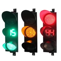 traffic light wih countdown timer