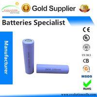 A Grade Quality Guaranteed ICR Li-ion 18650 2200mAh 3.7V Battery Manufacturer