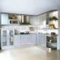 wood series kitchen cabinet
