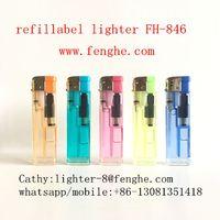 FH-846 refill gas lighter electronic cigarette lighter thumbnail image