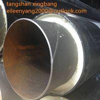 direct bury polyurethane foam cladding pre insulation pipe