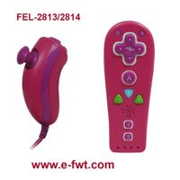FEL-2814+FEL-2813 Mini Nunchuk+Mini wheel+Mini Remote