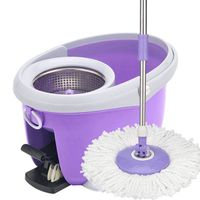 360 Spin Floor Rubber Mop With Bucket thumbnail image