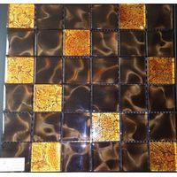 3d Glass Mosaic ( Hot melting glass mosaic)