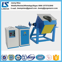 medium frequency induction melting furnace for precious metal melting