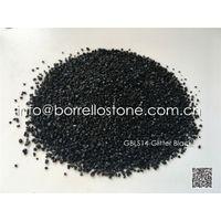 glitter black sand 2-4mm