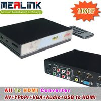 All to HDMI Converter (AV+YPbPr+VGA+Audio+USB to HDMI) thumbnail image