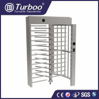 Turboo G535:Full height turnstile,biometic accessTurboo control barrier gate,flap barrier gate