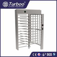 Turboo G535:Full height turnstile,biometic accessTurboo control barrier gate,flap barrier gate thumbnail image
