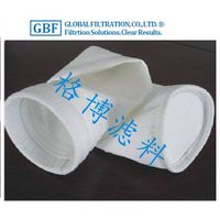 Needle Felt heat resistant Dust Collector PTFE Filter Bags with coated
