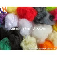 Colored Recycled Polyester Fiber