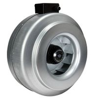 CE high pressure 3 year warranty silent inline duct fan