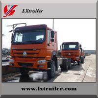 Sinotruk Howo 371hp Euro II 3-axle 6x4 tractor truck