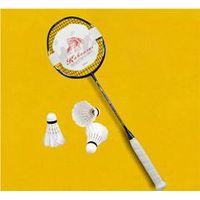 Kabourni hot sale high tension light weight corbon fiber baminton racket with carry bag