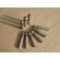 Metal sinter filter element