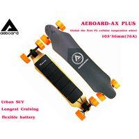 Aeboard AX Plus(105MM Honeycomb wheels) Electric Skateboard Flex Flexible Battery,electric longboard