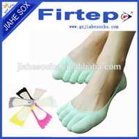 custom design cozy five toe sock
